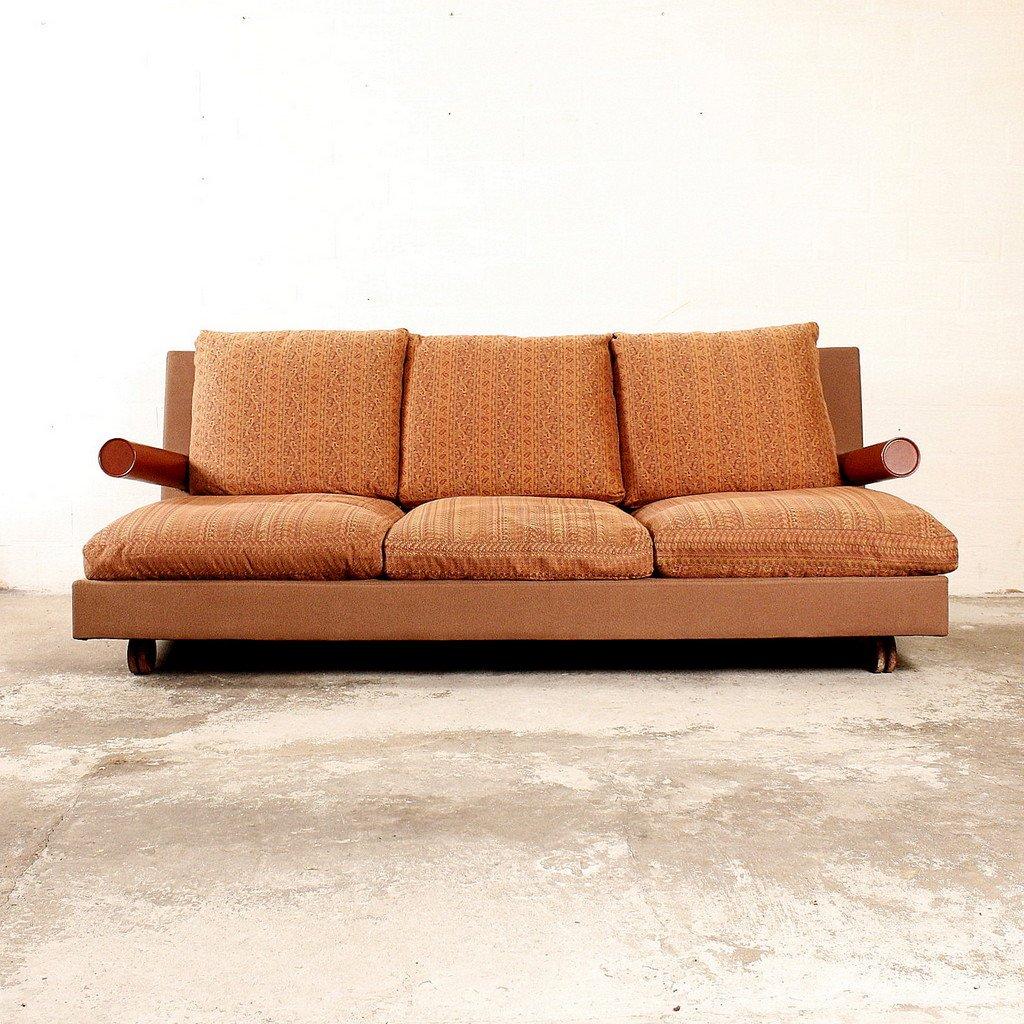 breites drei sitzer baisity sofa von antonio citterio f r b b italia 1986 bei pamono kaufen. Black Bedroom Furniture Sets. Home Design Ideas