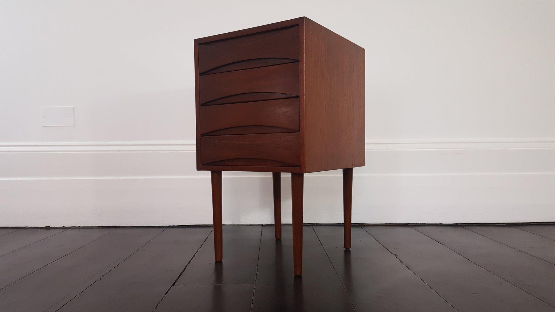 mid century teak kommode bei pamono kaufen. Black Bedroom Furniture Sets. Home Design Ideas