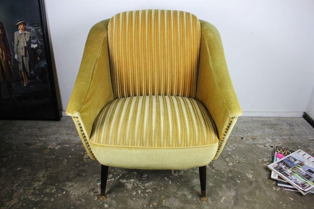 deutscher vintage gr ner sessel 1950er bei pamono kaufen. Black Bedroom Furniture Sets. Home Design Ideas