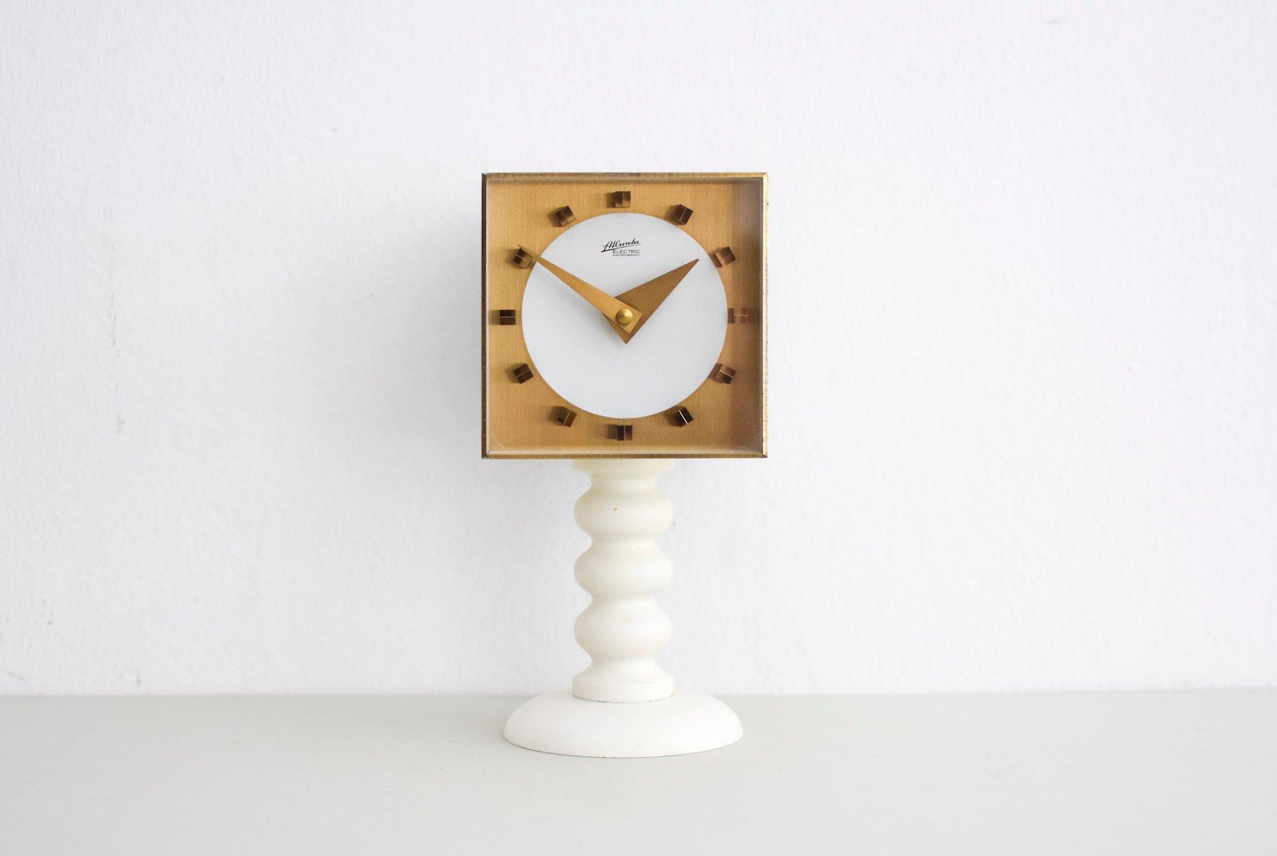 home image writing black garden desk clock newgate clocks