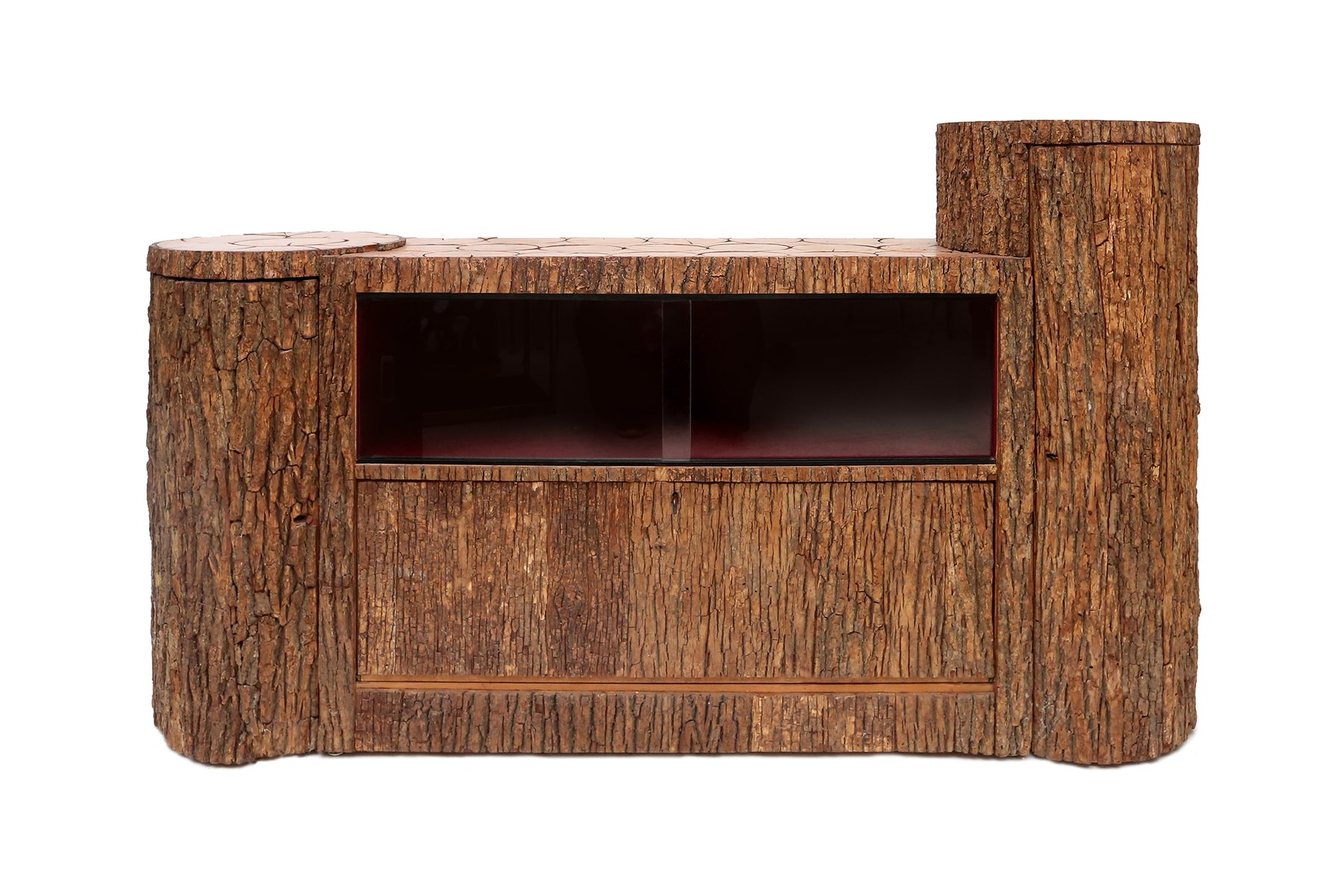 Bark credenza 1950s for sale at pamono for 1950 s credenza
