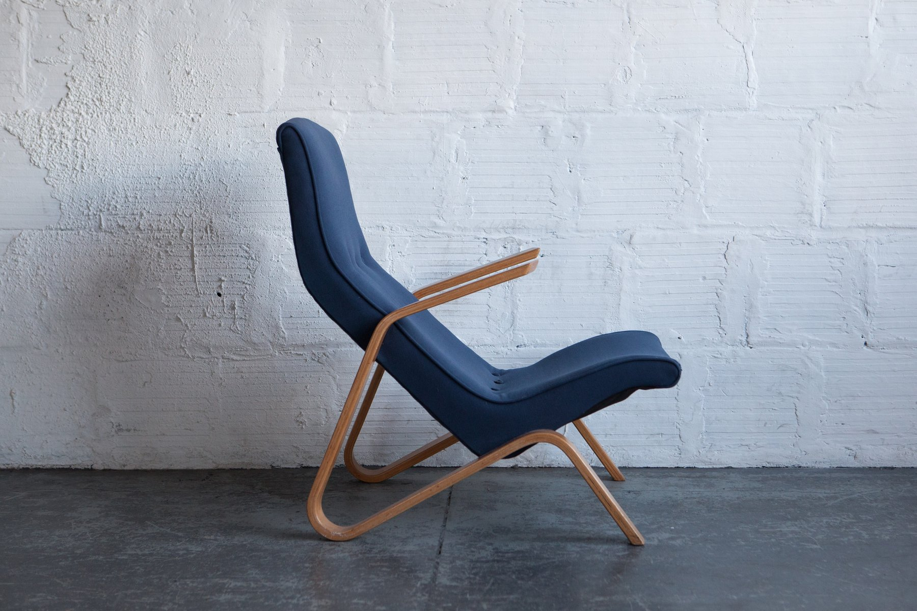 Vintage Grasshopper Chair By Eero Saarinen For Knoll For Sale At Pamono