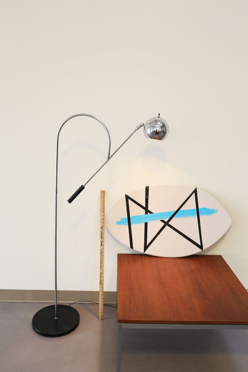 Vintage Orbiter Floor Lamp By Robert Sonneman For Sale At