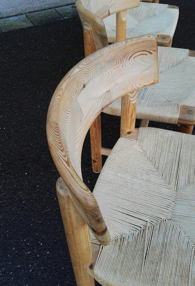 kiefernholz st hle von rainer daumiller f r hirtshals. Black Bedroom Furniture Sets. Home Design Ideas