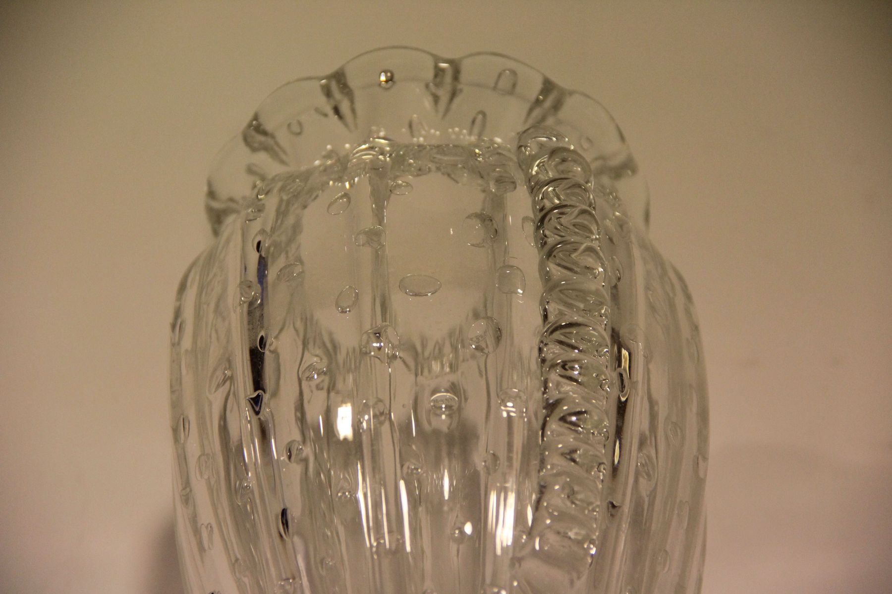 Antique danish mouth blown glass vase for sale at pamono antique danish mouth blown glass vase 7 46400 price per piece reviewsmspy
