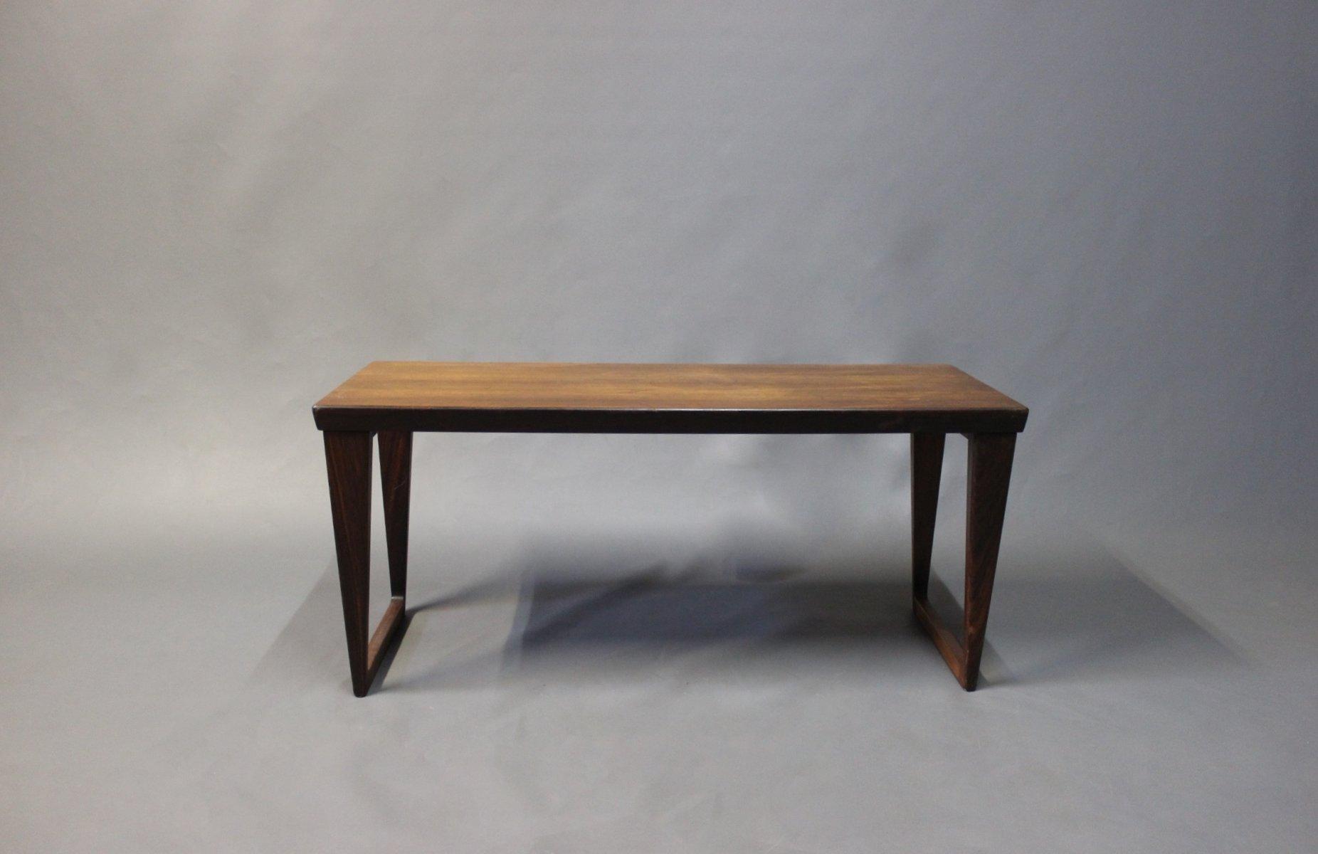 d nischer kleiner palisander couchtisch 1960er bei pamono. Black Bedroom Furniture Sets. Home Design Ideas