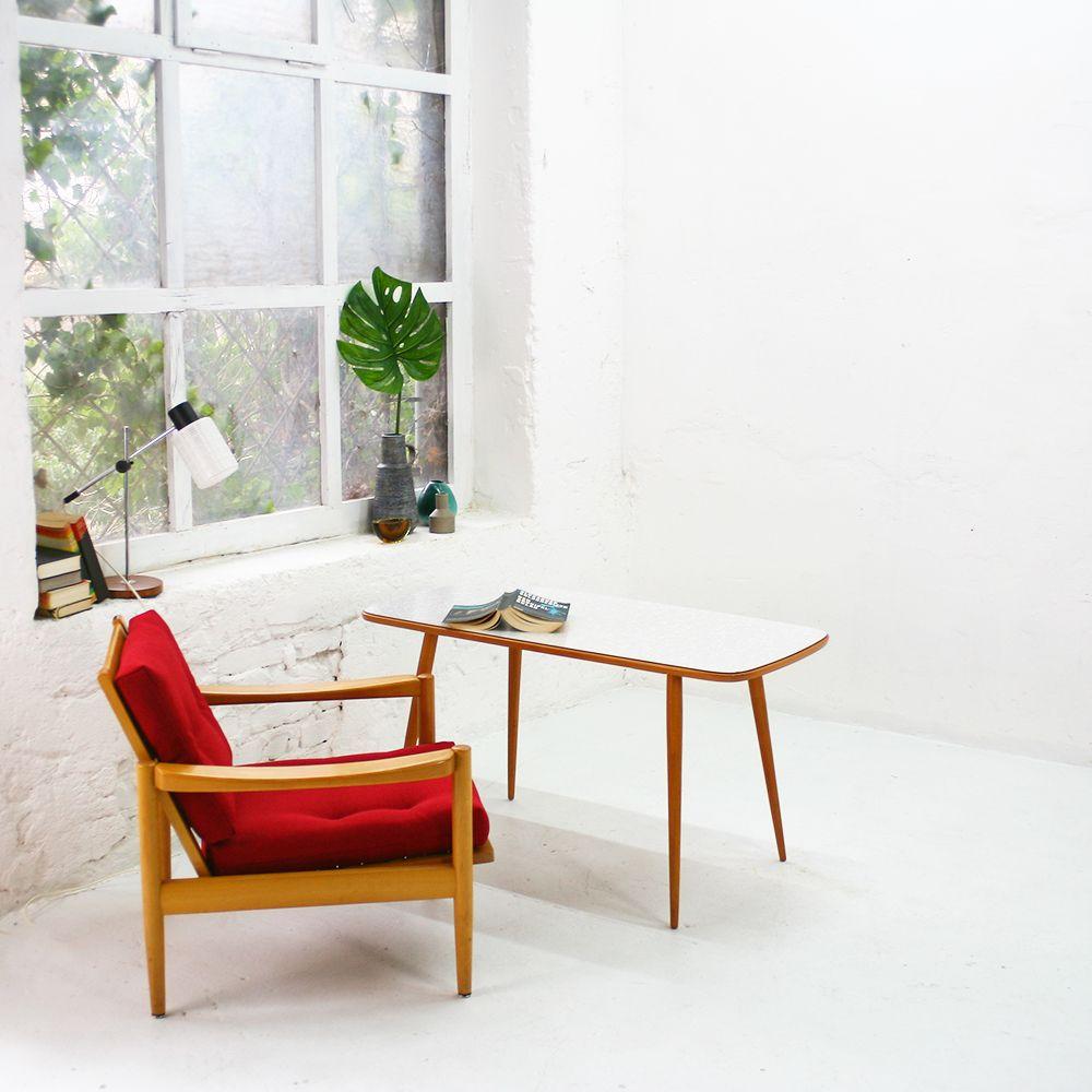 vintage buchenholz und formica couchtisch 1950er bei pamono kaufen. Black Bedroom Furniture Sets. Home Design Ideas
