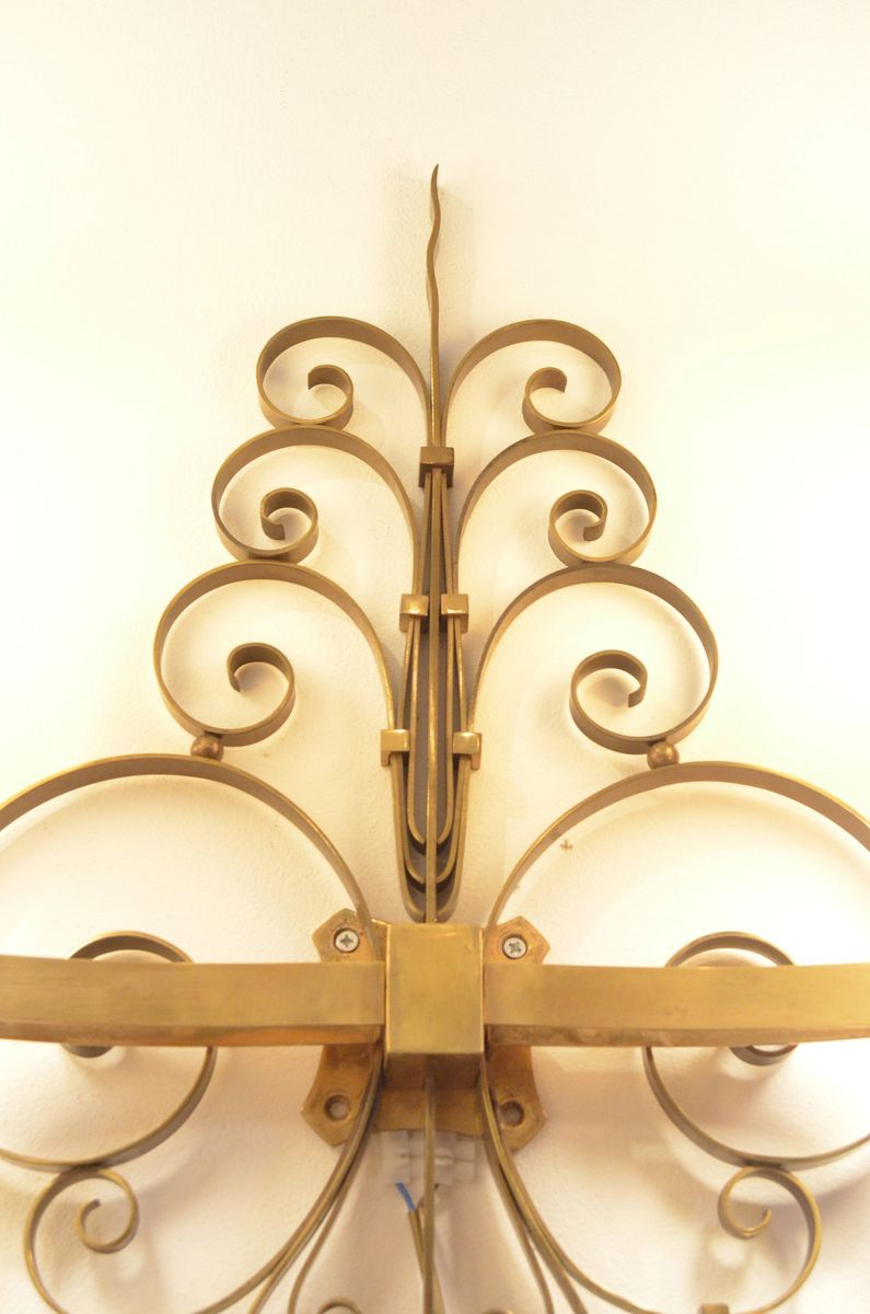 Old Fashioned Brass Wall Decorations Model - The Wall Art ...