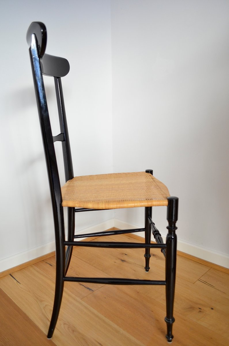 Italian Chair by Chiavari for Gessef Consortio Sedie Friuli, 1960s ...
