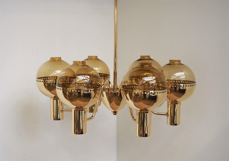 Swedish patricia brass chandelier from hans agne jakobsson 1960s swedish patricia brass chandelier from hans agne jakobsson 1960s mozeypictures Choice Image