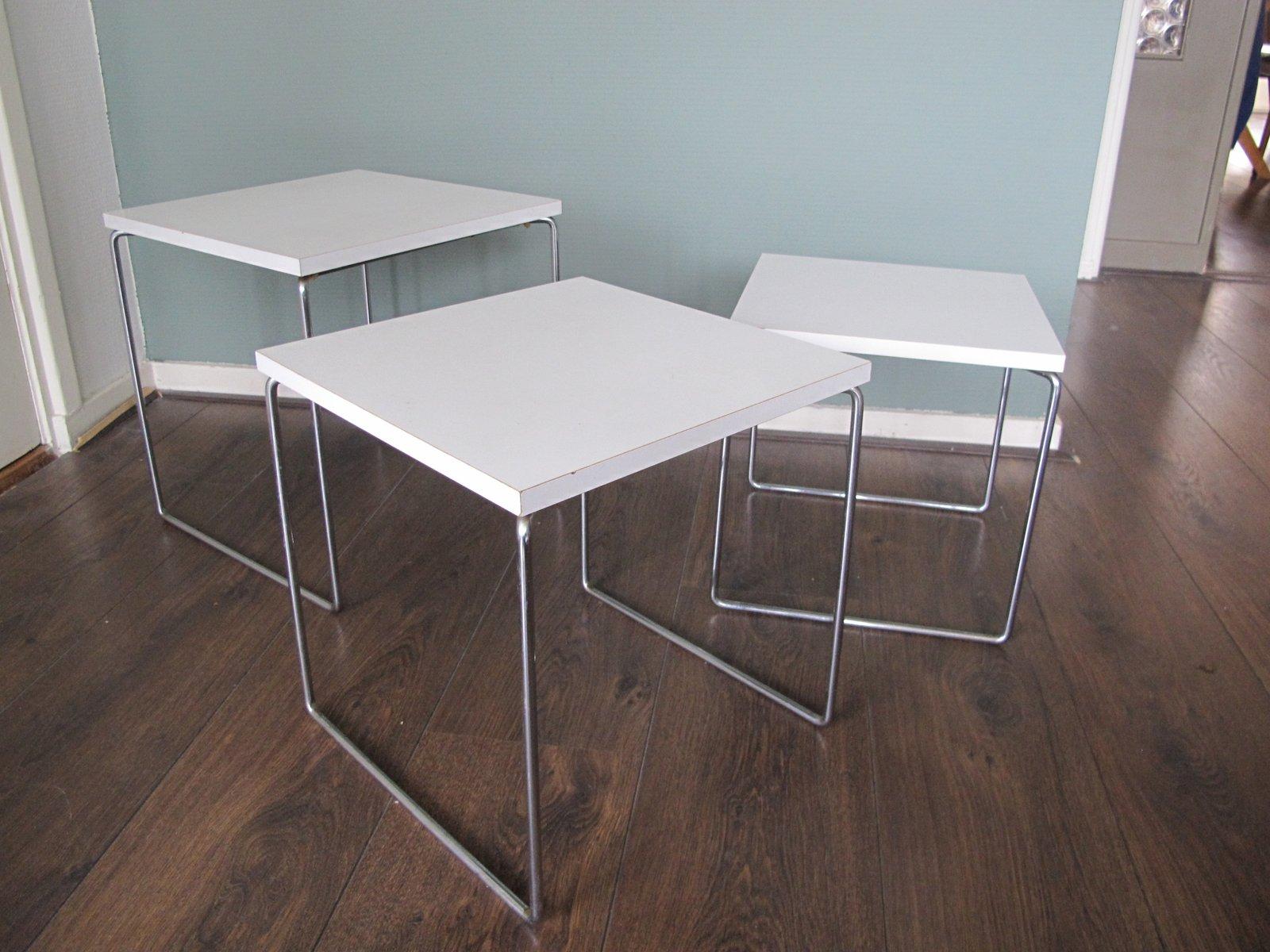 satztische von brabantia 1970er bei pamono kaufen. Black Bedroom Furniture Sets. Home Design Ideas