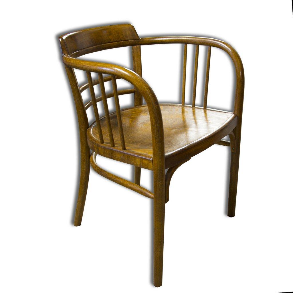 Sedia antica in faggio di Gustav Siegel per Thonet, 1907 in ...