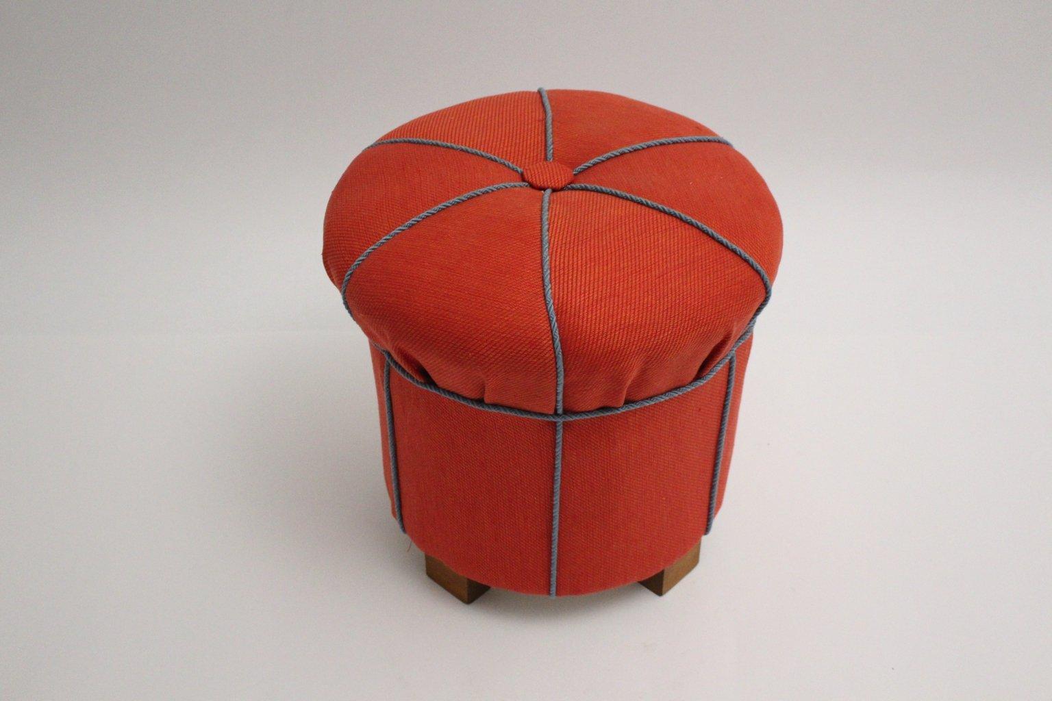 art deco pouf 1930er bei pamono kaufen. Black Bedroom Furniture Sets. Home Design Ideas