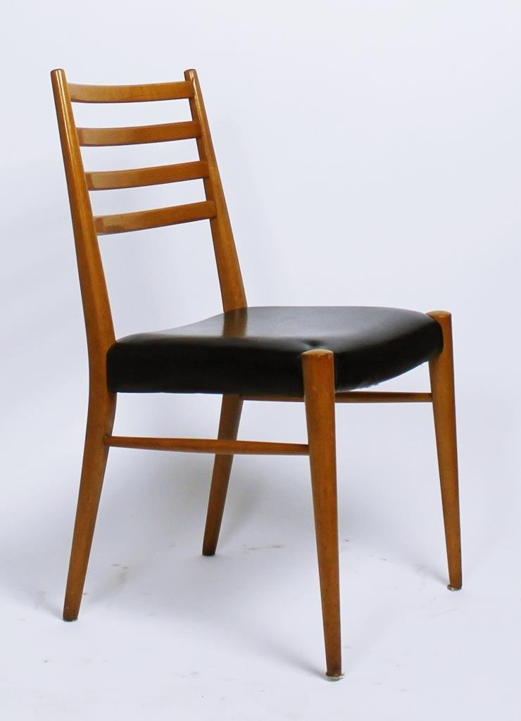 Austrian Chairs From Wiesner Hager, 1950s, Set Of 4