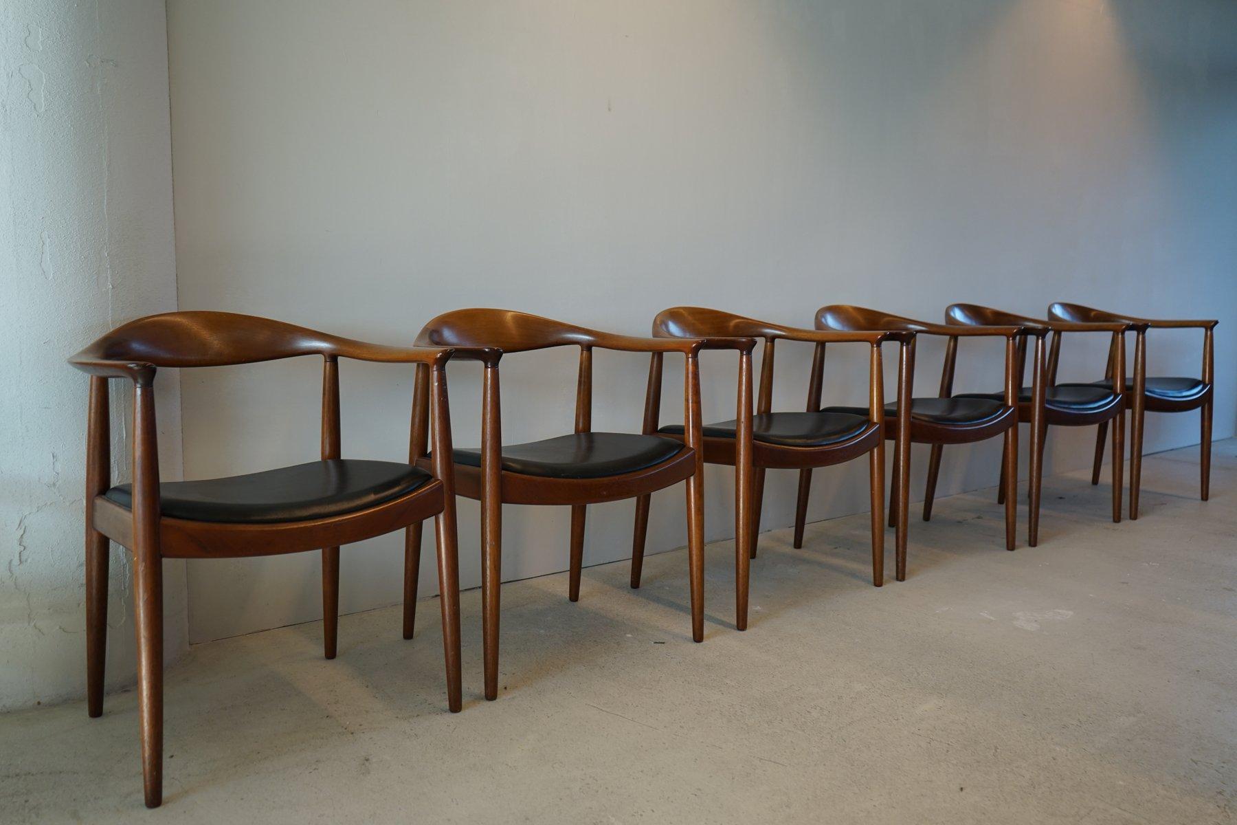 hans j wegner furniture. The Chair 503 Armchairs By Hans J. Wegner For Johannes Hansen, Set Of 6 J Furniture .