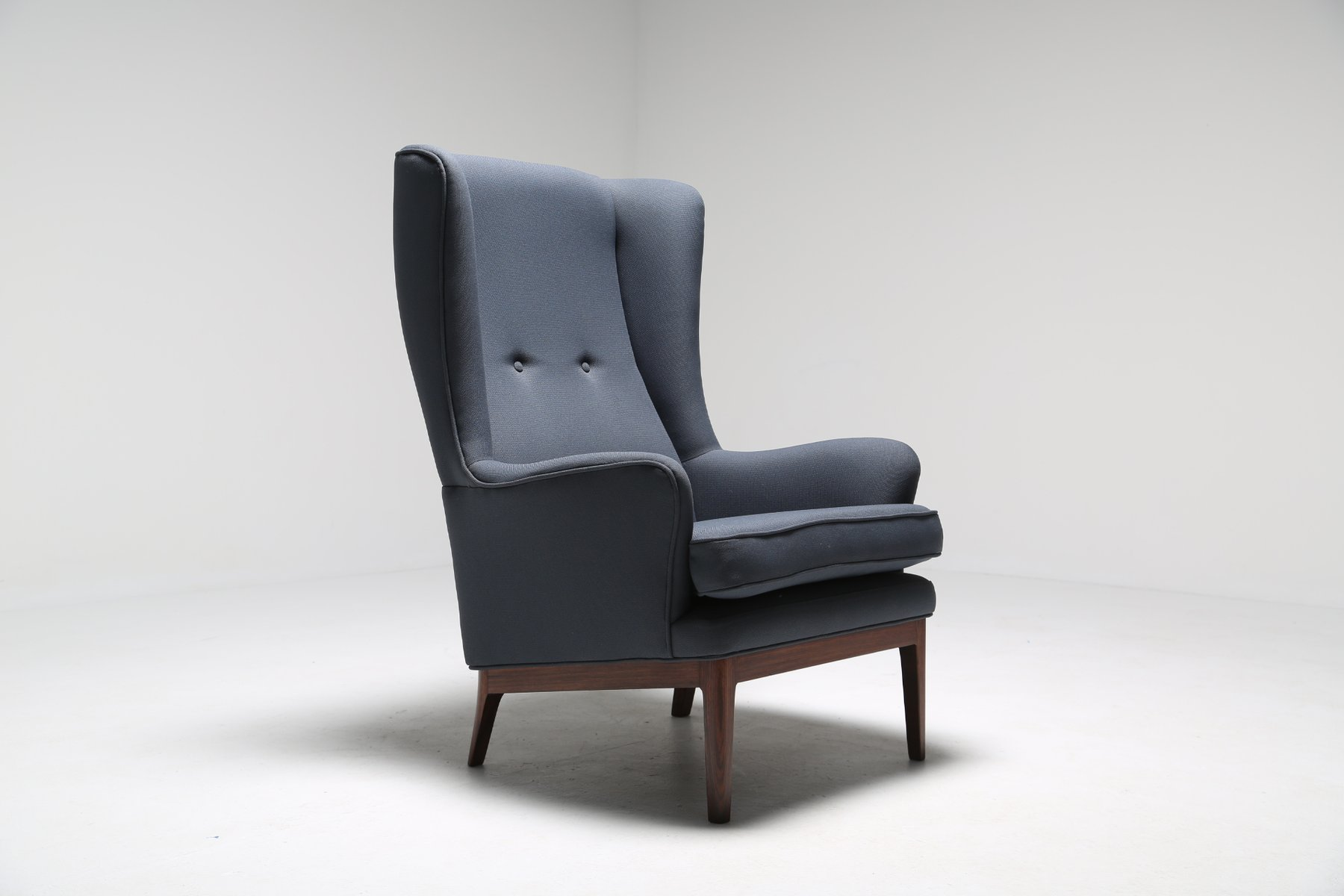 Attractive Mid Century Modern Wing Chair From Arne Norell