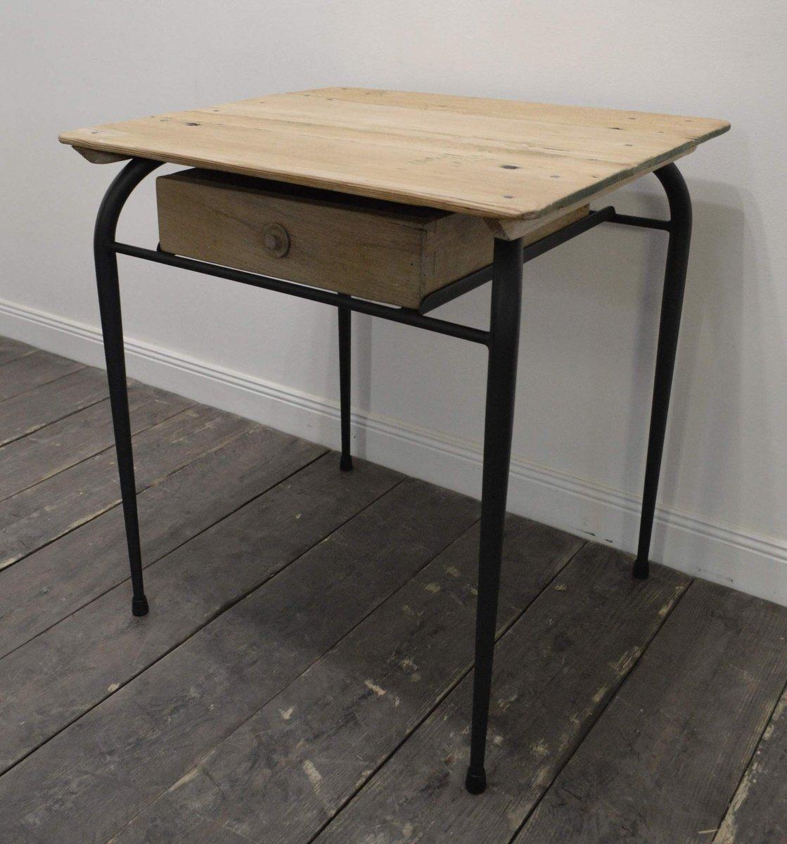 franz sischer kleiner vintage schreibtisch 1950er bei. Black Bedroom Furniture Sets. Home Design Ideas