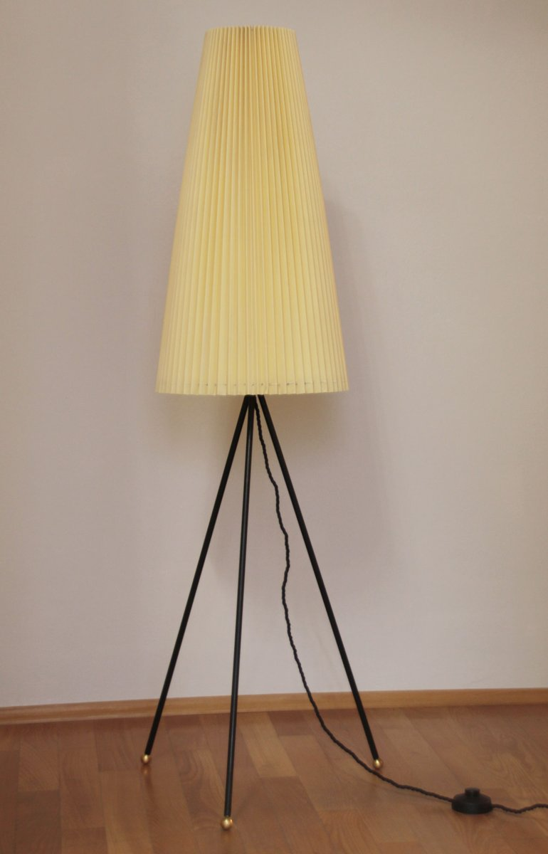 Mid century german tripod floor lamp 1950s for sale at pamono mid century german tripod floor lamp 1950s aloadofball Images