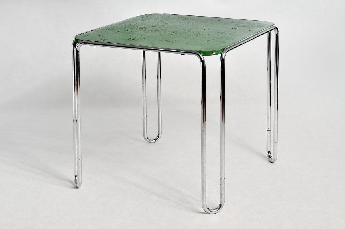 b10 tisch von marcel breuer 1930er - Marcel Breuer Tisch