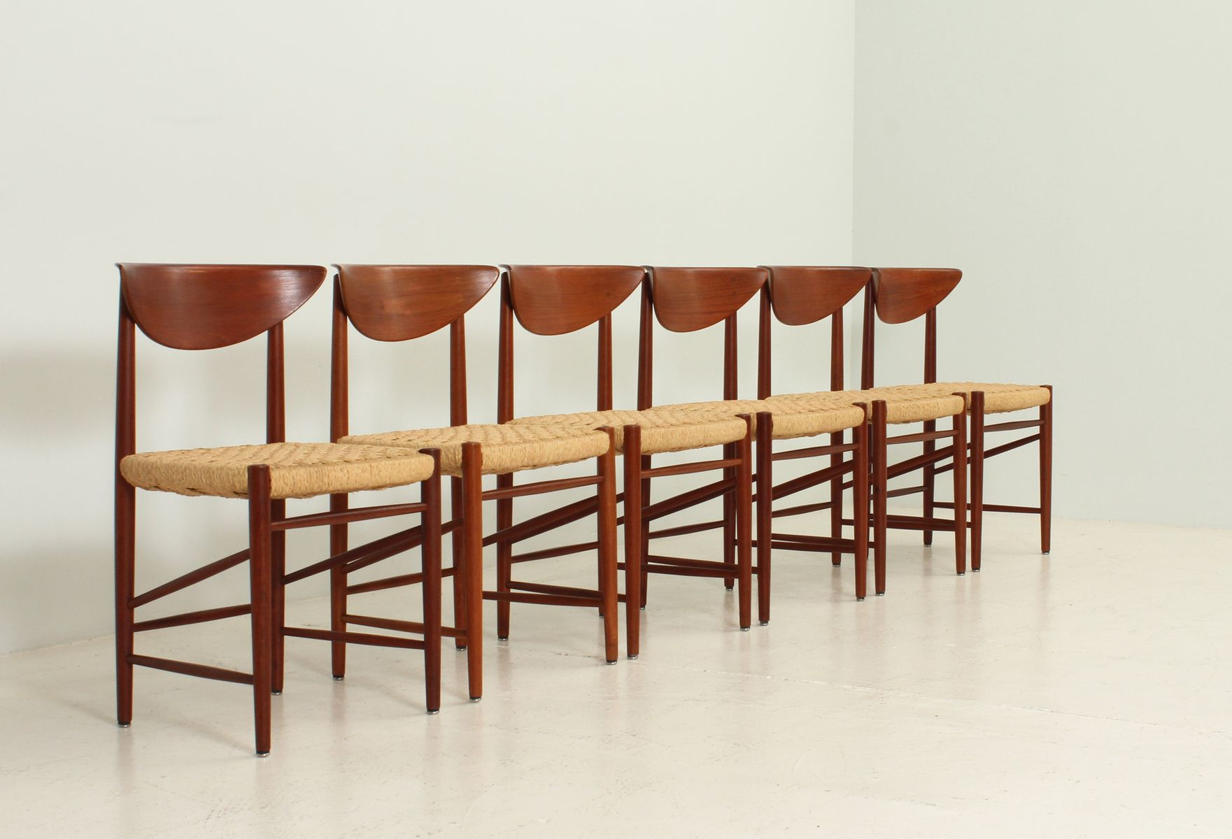 Dining Chairs by Peter Hvidt and Orla M¸lgaard Nielsen for S¸borg