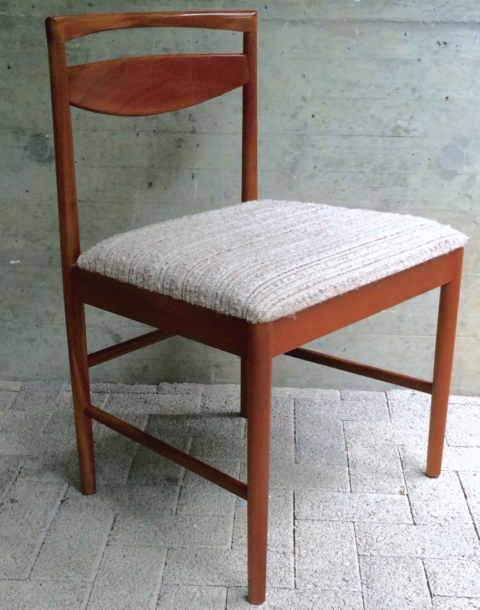 Mid Century Teak Dining Chairs By Tom Robertson For AH McIntosh 1970s Set Of 4 Sale At Pamono