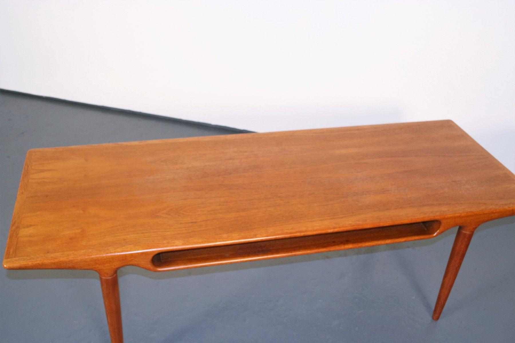 table-basse-en-teck-par-johannes-andersen-pour-c-f-c-silkeborg-5 Incroyable De Table Basse Gigogne Vintage Des Idées