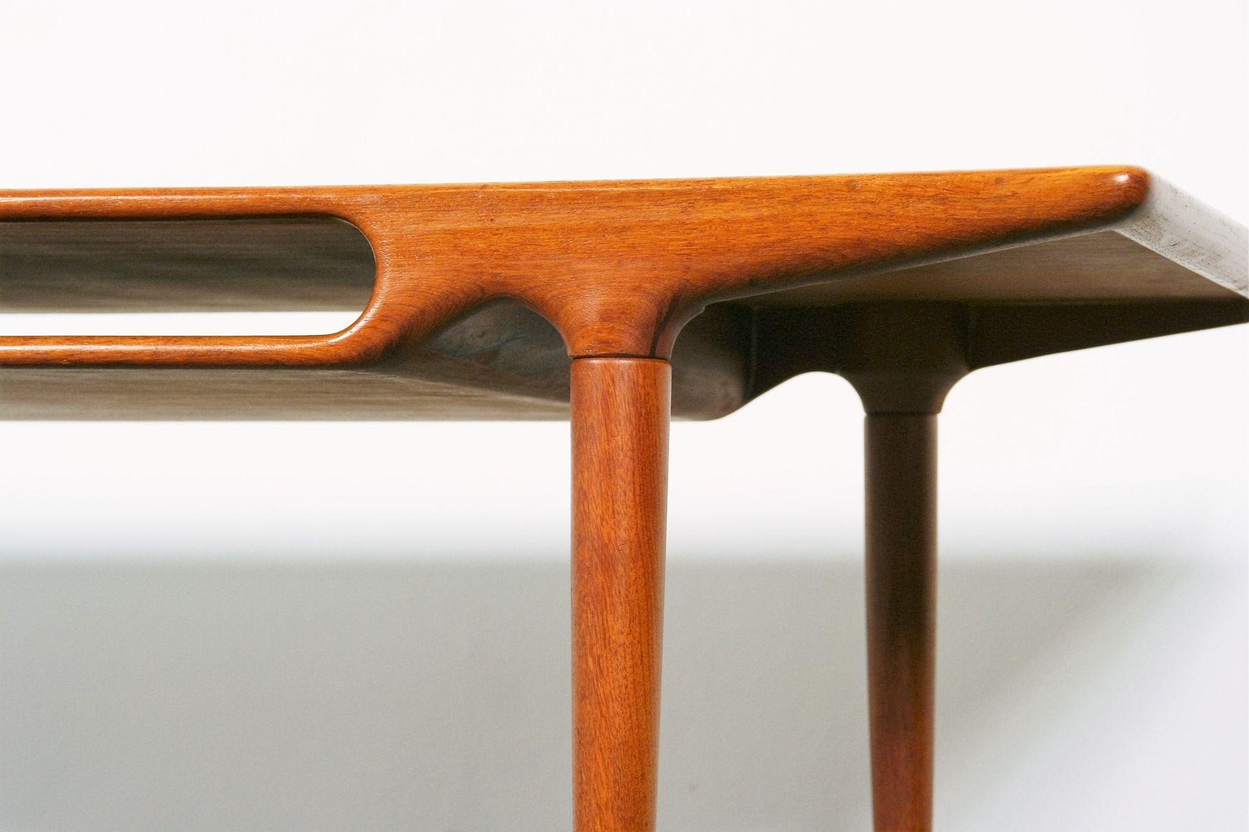 table-basse-en-teck-par-johannes-andersen-pour-c-f-c-silkeborg-3 Incroyable De Table Basse Gigogne Vintage Des Idées