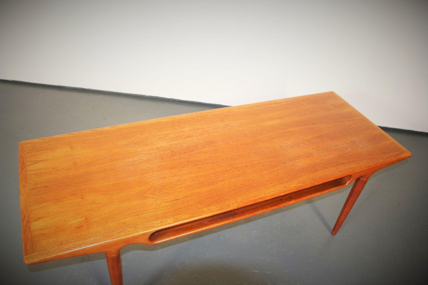 table-basse-en-teck-par-johannes-andersen-pour-c-f-c-silkeborg-8 Incroyable De Table Basse Gigogne Vintage Des Idées
