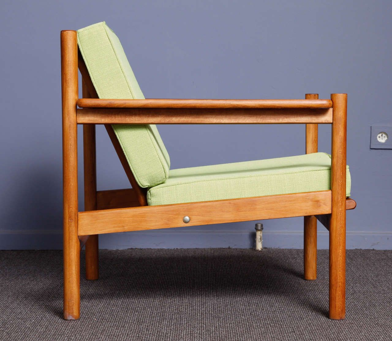 Vintage Scandinavian Armchair In Teak For Sale At Pamono