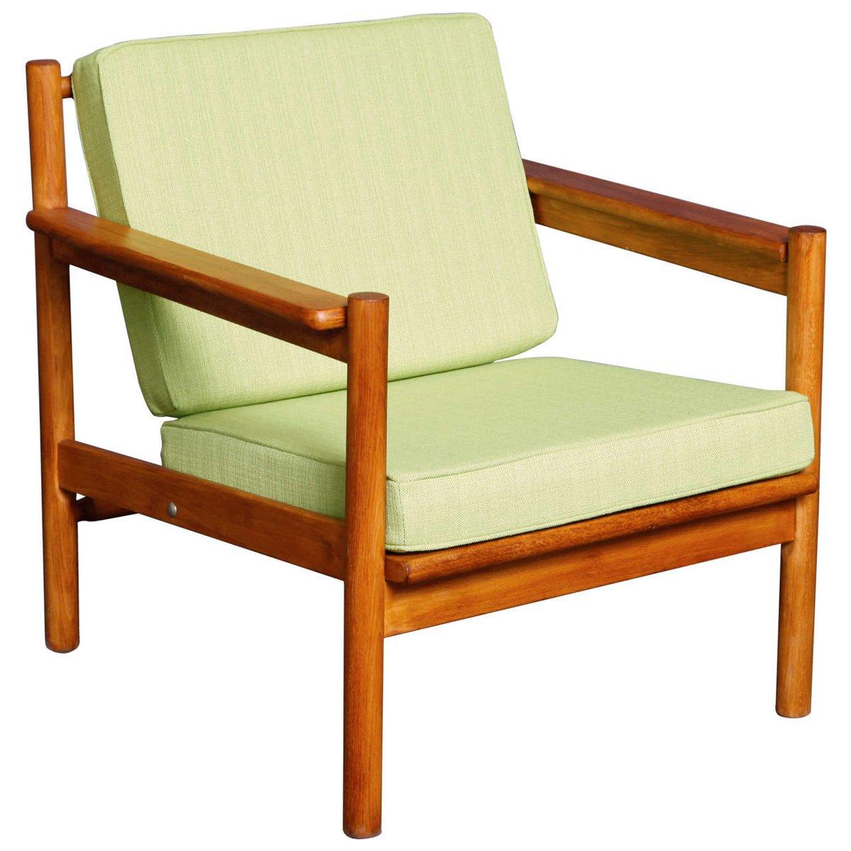 skandinavischer vintage sessel aus teak bei pamono kaufen. Black Bedroom Furniture Sets. Home Design Ideas
