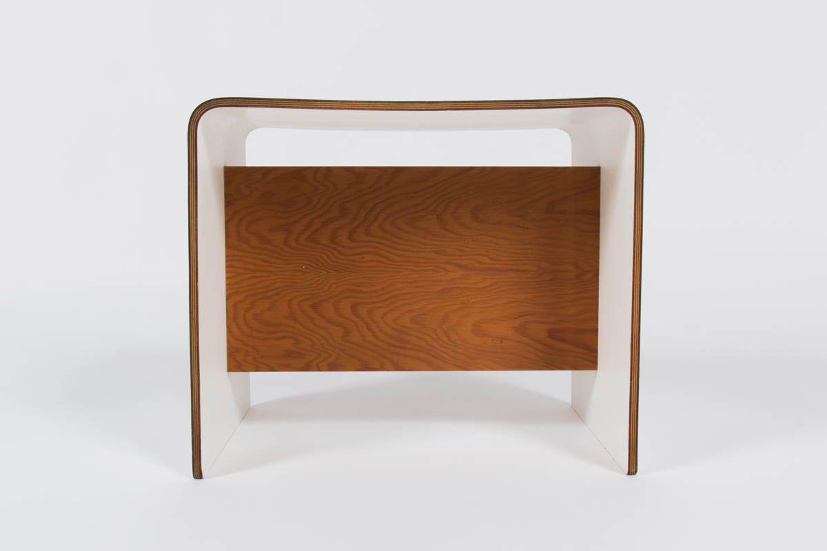 Table De Chevet Par Pierre Guariche Pour Negroni S A 1968 En Vente