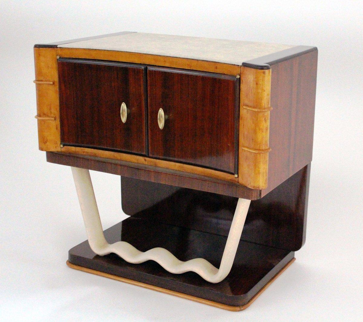 Comodini vintage di osvaldo borsani per mobili trieste for Mobilia trieste