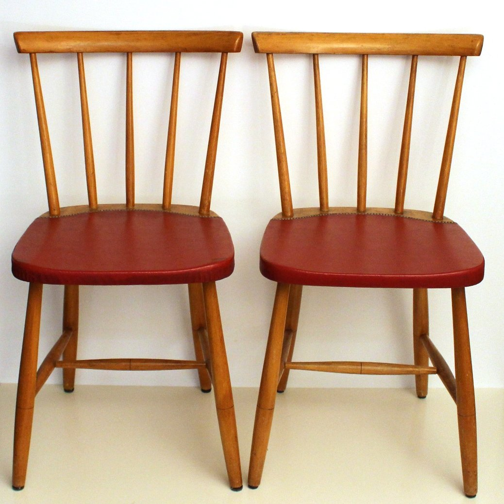 - Mid-Century Vintage Dining Chairs, 1960s, Set Of 4 For Sale At Pamono