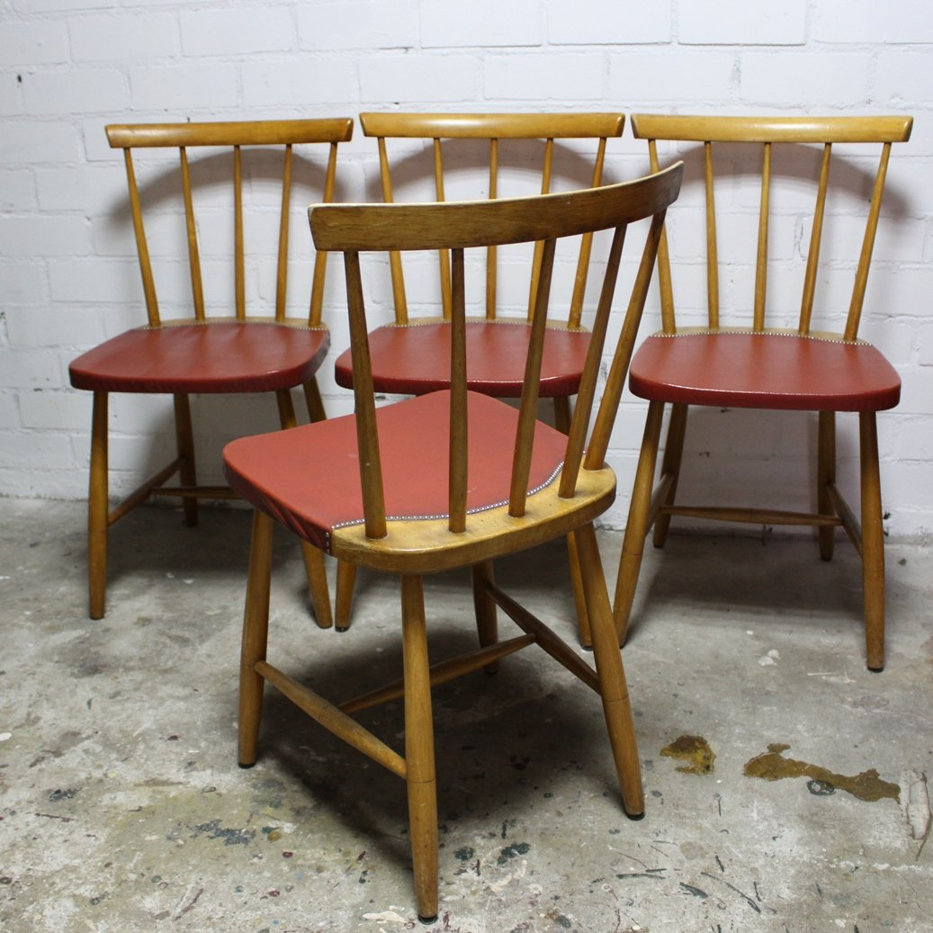 dining chairs brown. Mid-Century Vintage Dining Chairs, 1960s, Set Of 4 Chairs Brown