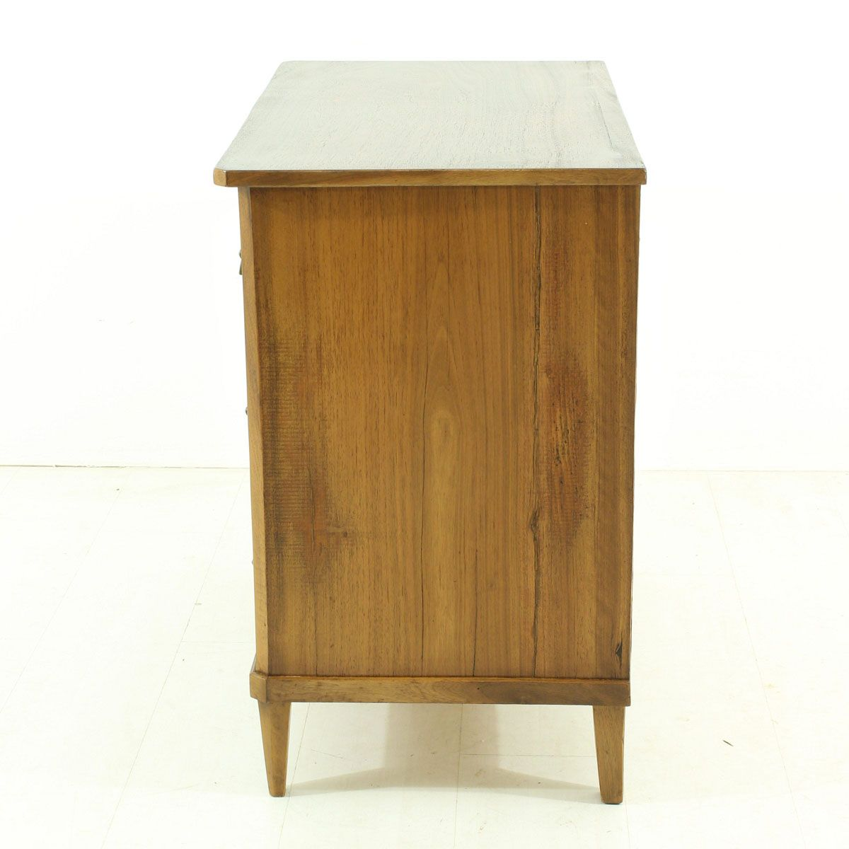 vintage small walnut veneered commode for sale at pamono. Black Bedroom Furniture Sets. Home Design Ideas