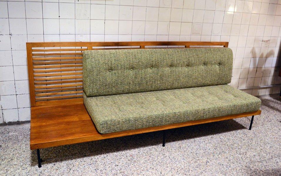 sofa mit beistelltisch 1950er bei pamono kaufen. Black Bedroom Furniture Sets. Home Design Ideas