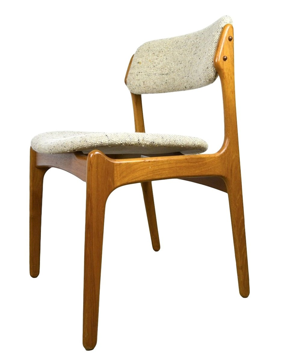 Dining Chairs by Erik Buch for O D M¸bler 1970s Set of 4 for