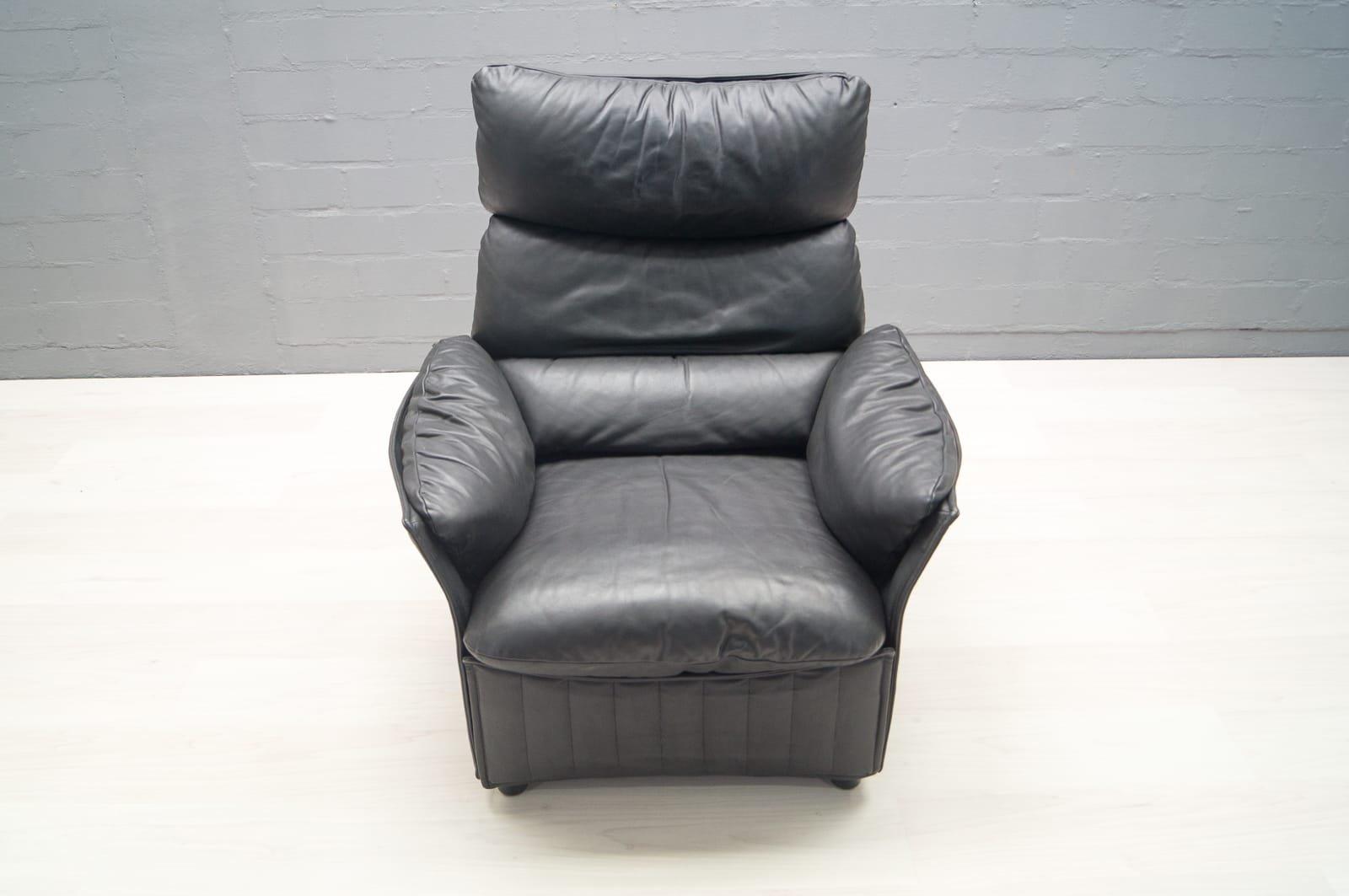 vintage ledersessel von airborne international bei pamono kaufen. Black Bedroom Furniture Sets. Home Design Ideas