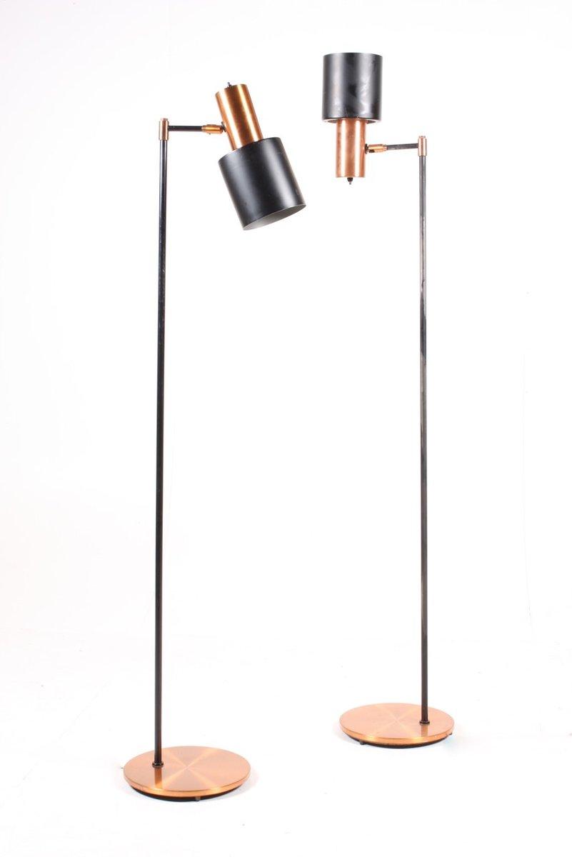 Studio Floor Lamps By Jo Hammerborg For Fog M Rup 1960s