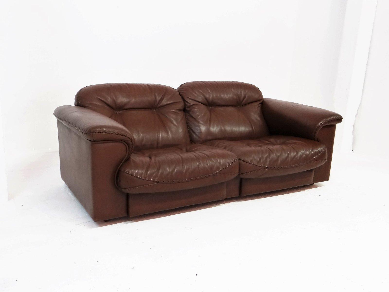 vintage ds 101 ledersofa von de sede bei pamono kaufen. Black Bedroom Furniture Sets. Home Design Ideas