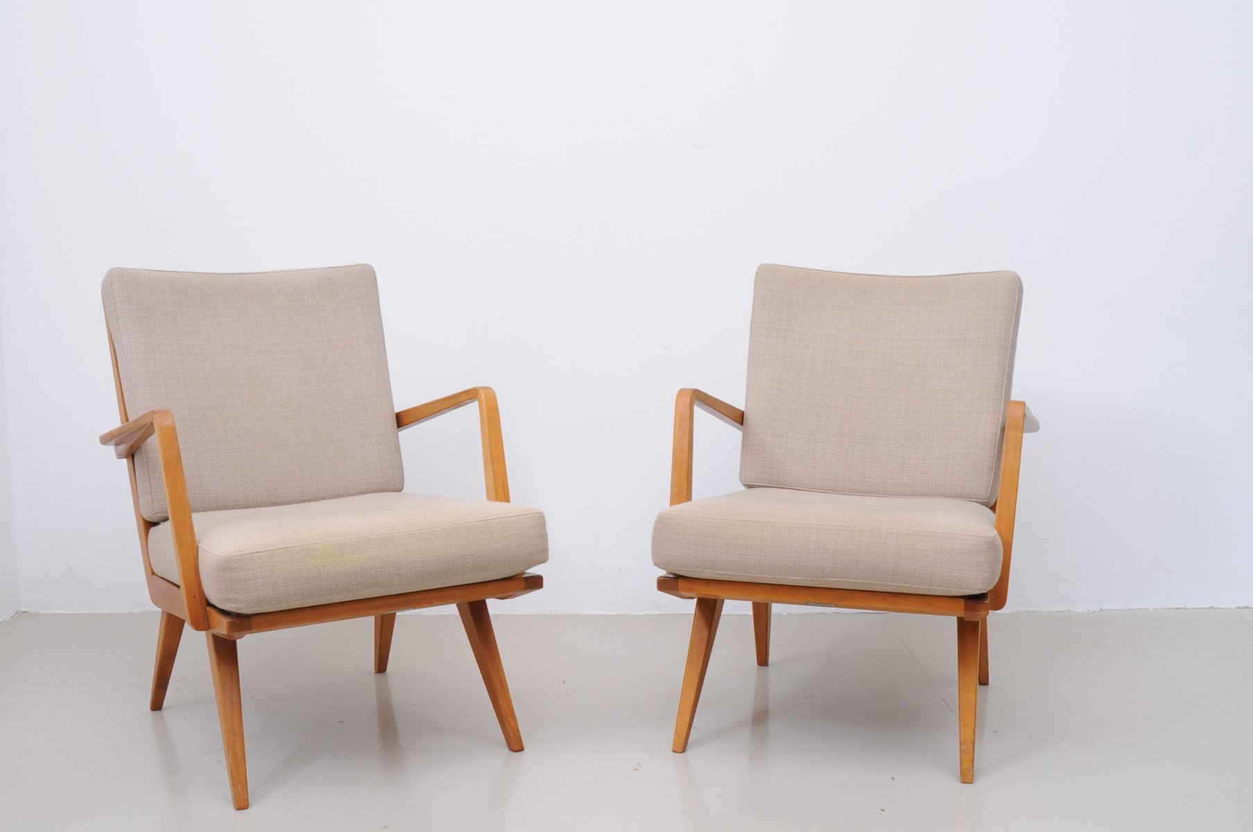 Mid-Century Armchairs from Knoll, Set of 2 for sale at Pamono