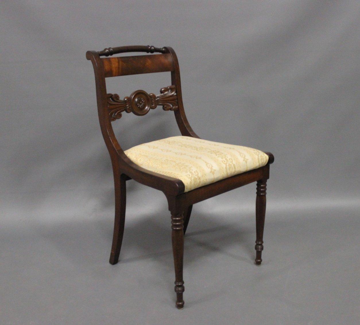 antike d nische st hle 19 jh 9er set bei pamono kaufen. Black Bedroom Furniture Sets. Home Design Ideas