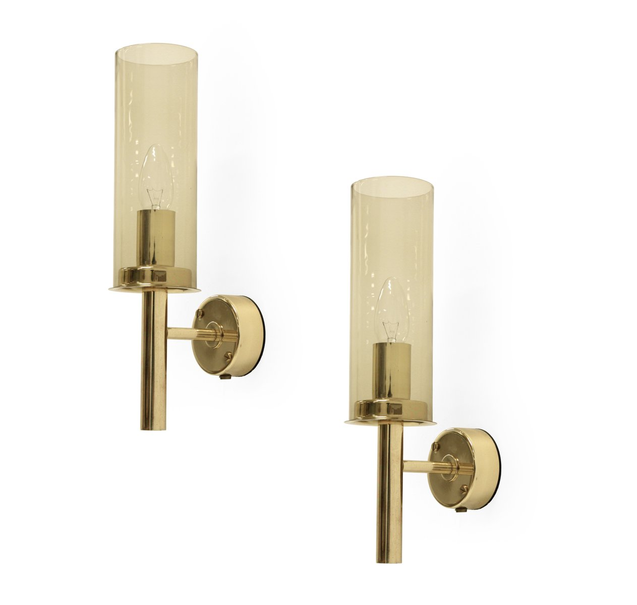 Model 16914 brass wall lights by hans agne jakobsson for ab model 16914 brass wall lights by hans agne jakobsson for ab markaryd 1960s set of 2 aloadofball Choice Image