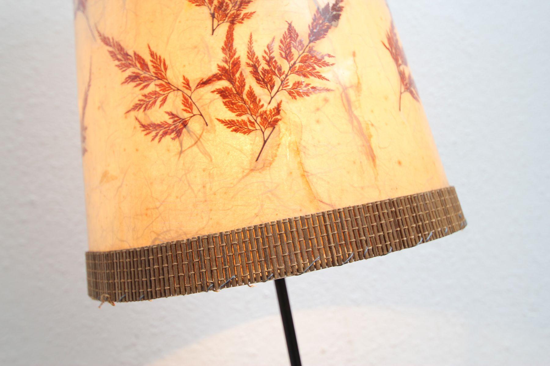 German Teak Tripod Lamp, 1950s for sale at Pamono