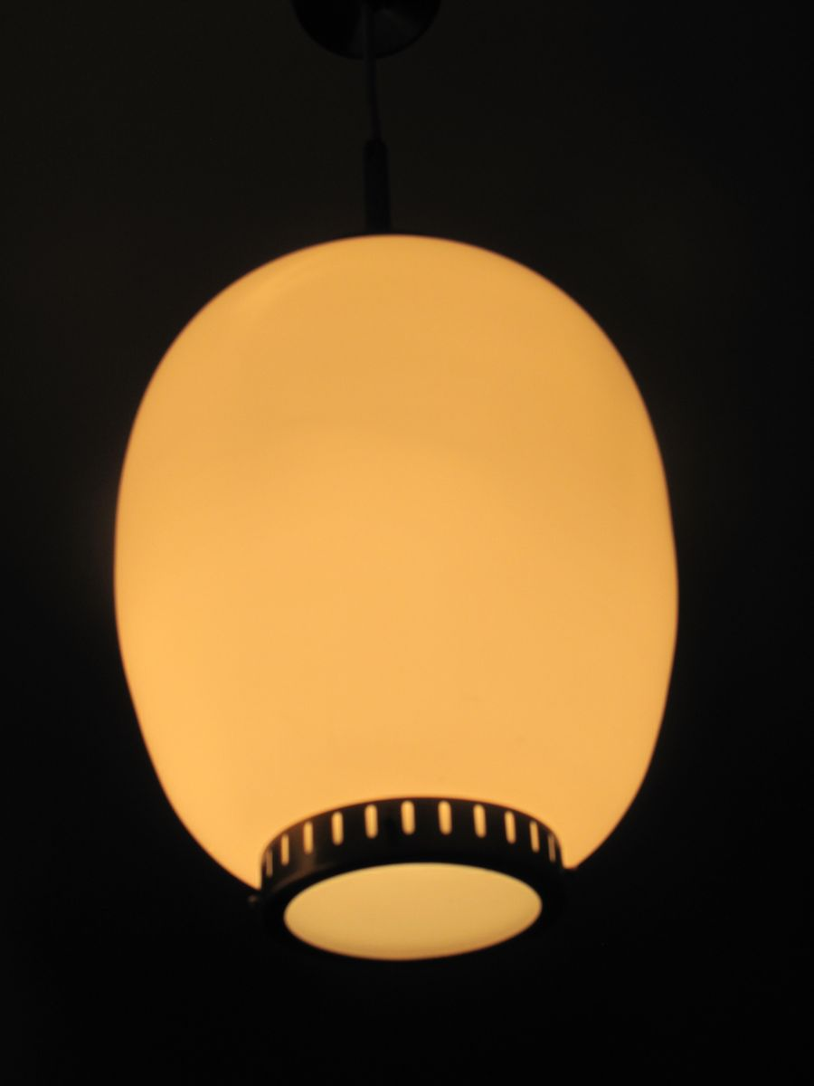 Charming Danish China Ceiling Lamp By Bent Karlby For Lyfa For Sale At Pamono