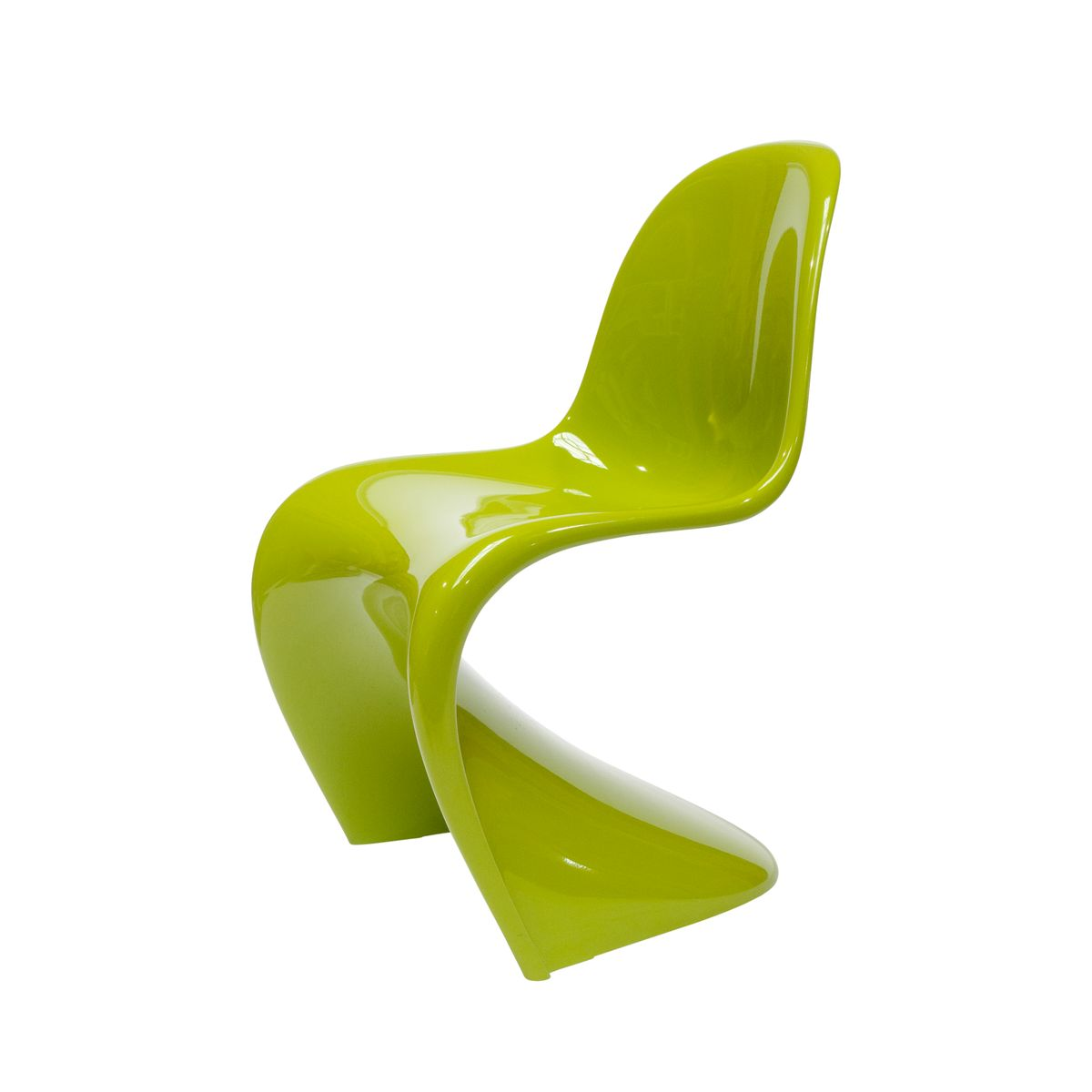 the panton chair in chartreuse von verner panton f r vitra 2006 bei pamono kaufen. Black Bedroom Furniture Sets. Home Design Ideas