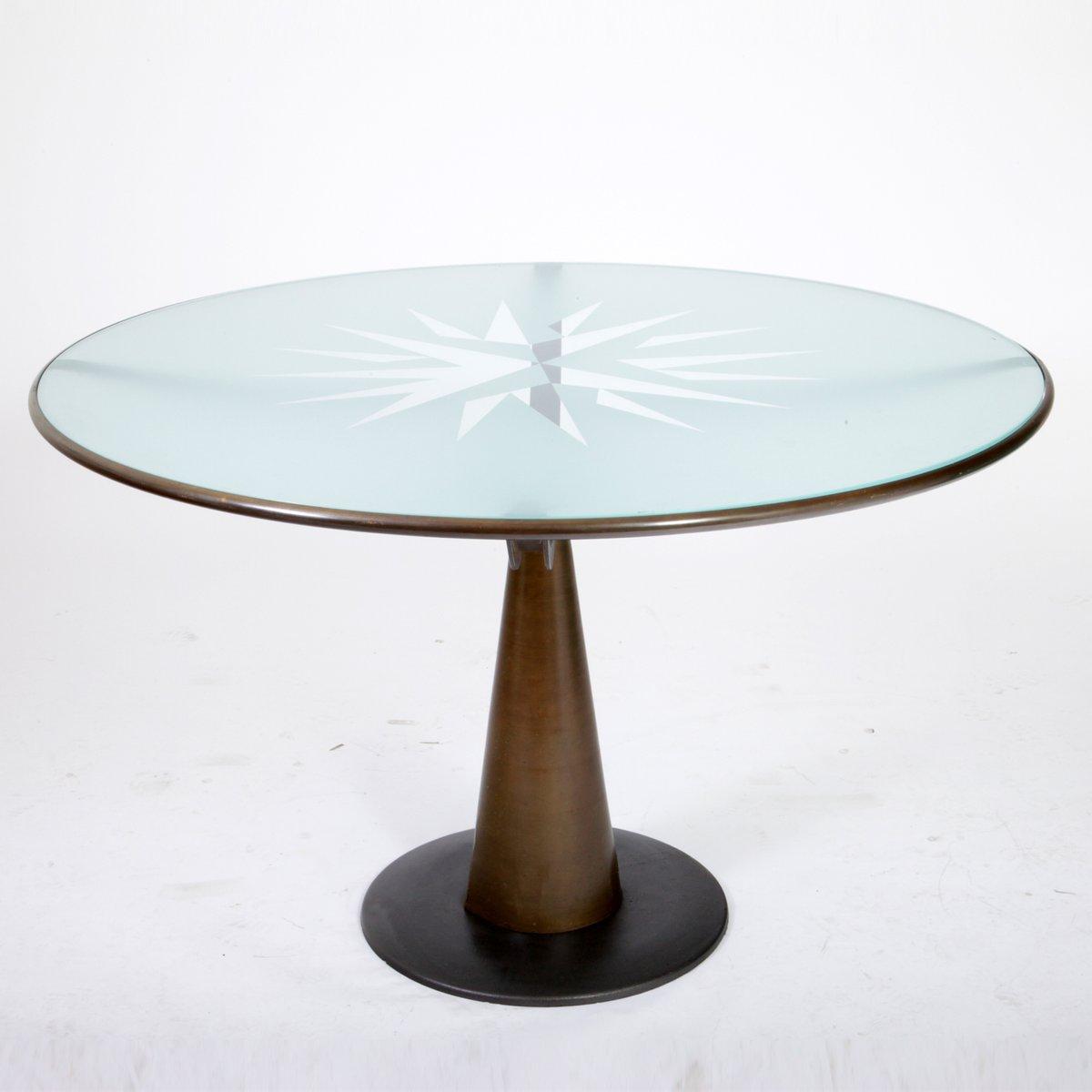 astrolabio tisch von oscar tusquets f r aleph 1980er bei pamono kaufen. Black Bedroom Furniture Sets. Home Design Ideas