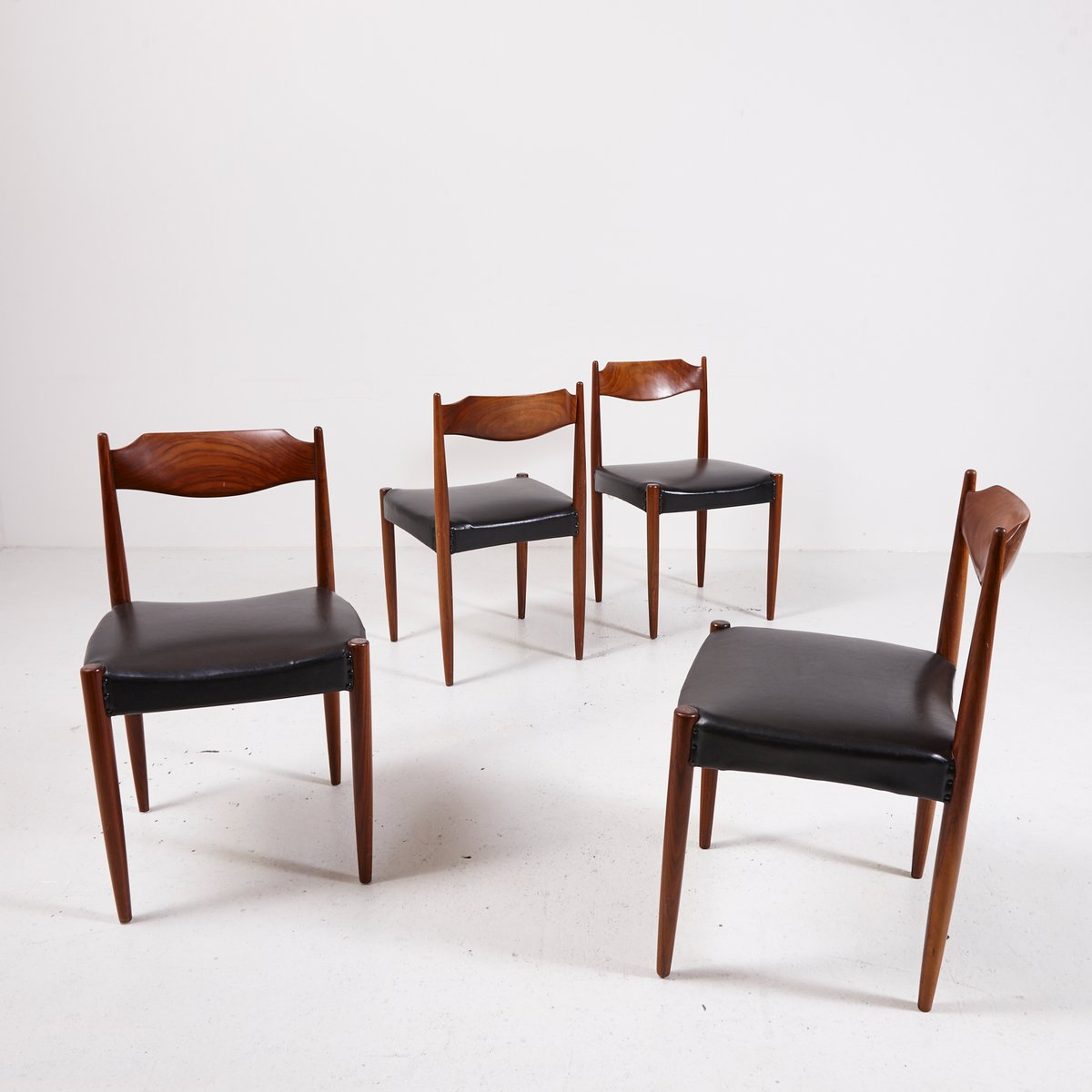 dining chairs set of 4. Danish Rosewood Dining Chairs, Set Of 4 Chairs I