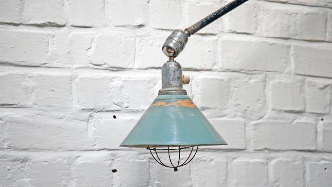 Triplex Telescopic Lamp by Johan Petter Johansson, 1919 for sale at ...