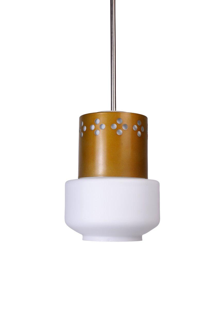 vintage deckenlampe mit kupfer details 1970er bei pamono kaufen. Black Bedroom Furniture Sets. Home Design Ideas